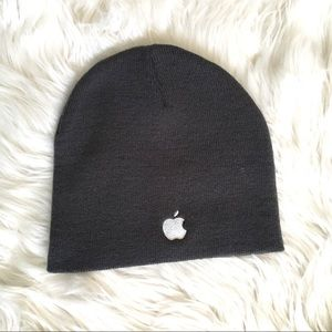 Apple, Inc Gray Beanie - One Size Fits Most